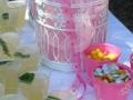 Fresh lemonade at baptism