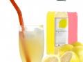 Fresh lemonade at coffee shop