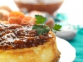 Cheesecake με φέτα και μαρμελάδα ντομάτας
