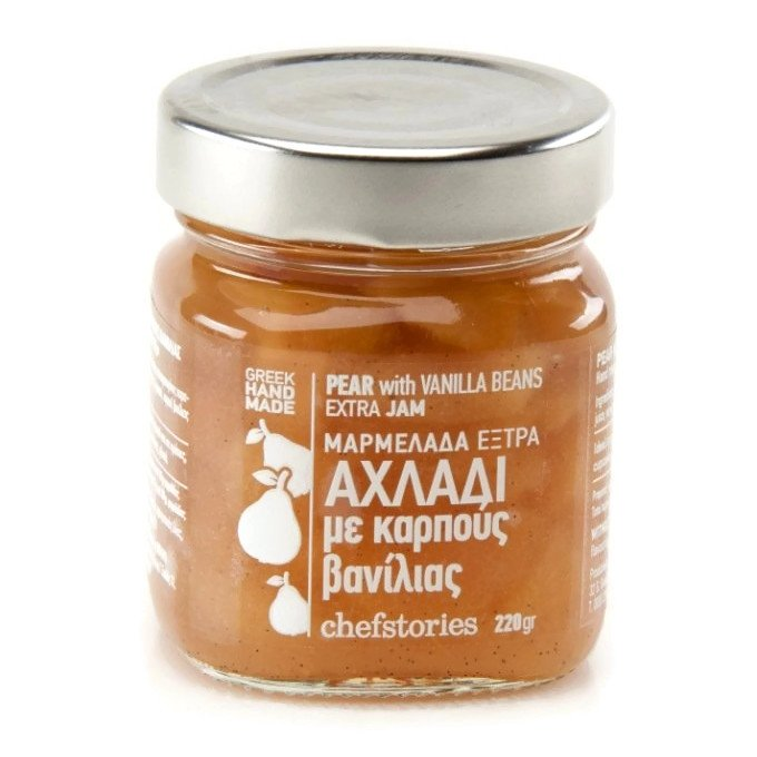 Pear with Vanilla ~ Hand Jam extra 220gr