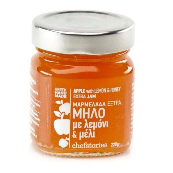 Apple with lemon and honey ~ Handmade Jam extra 220gr