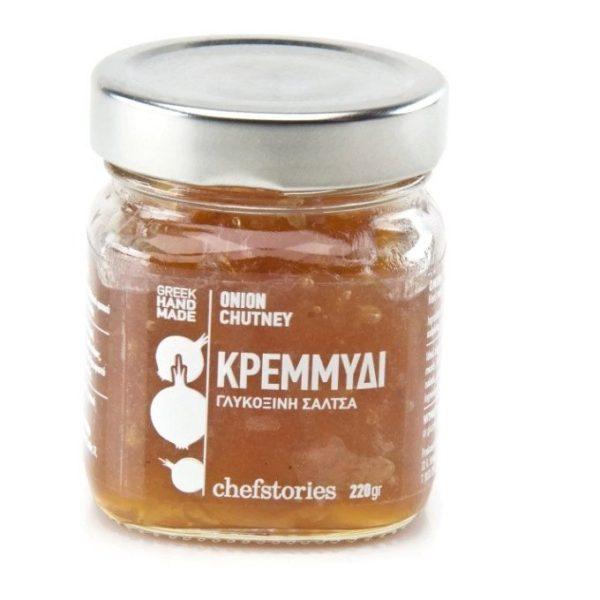 Κρεμμύδι ~ Χειροποίητη Γλυκόξινη Σάλτσα (chutney) 220γρ