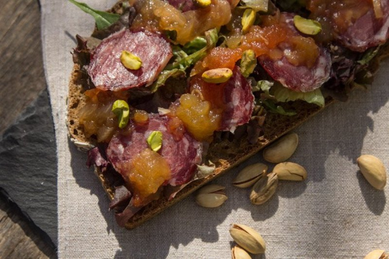 Γλυκόξινη σάλτσα (chutney) Chefstories ~ ΜΗΛΟ με Πιπέρι Καγιέν